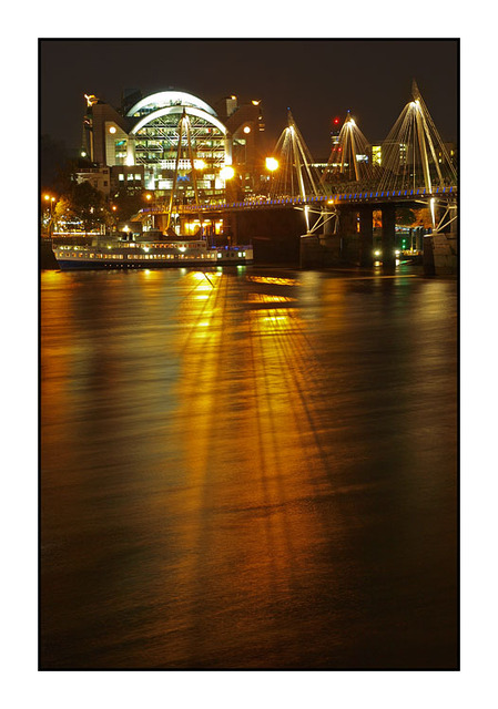 Hungerford Bridge England and Wales