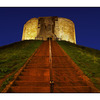 Cliffords Tower at Night - England and Wales