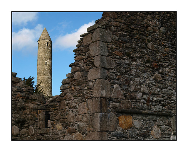 Glendalough Tower Ireland
