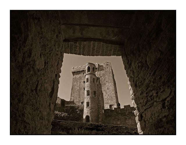 -Blarney Castle Sepia Ireland
