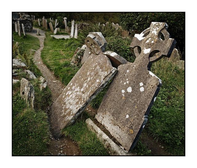 -Glendalough Graveyard Ireland