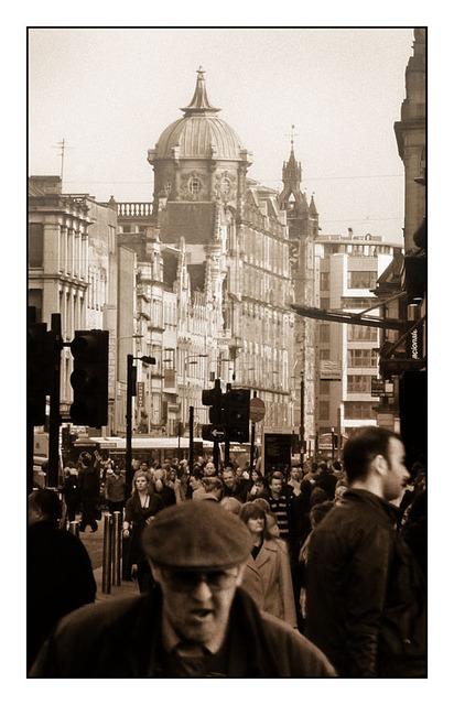 Glasgow Street Scotland
