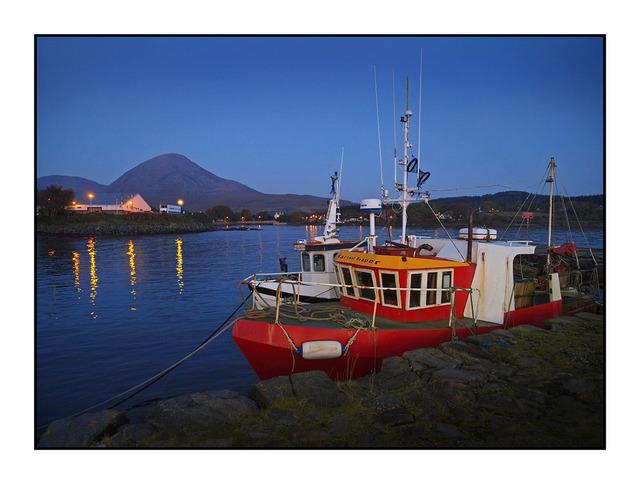Broadford Boats Skye Scotland