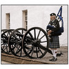 Blair Castle Piper - Scotland