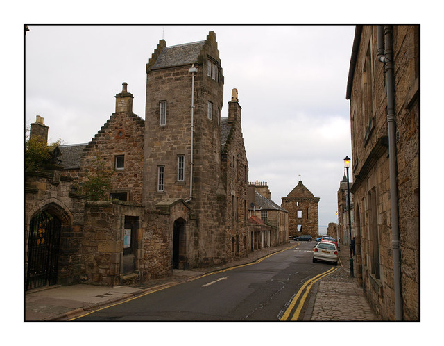 St Andrews town Scotland