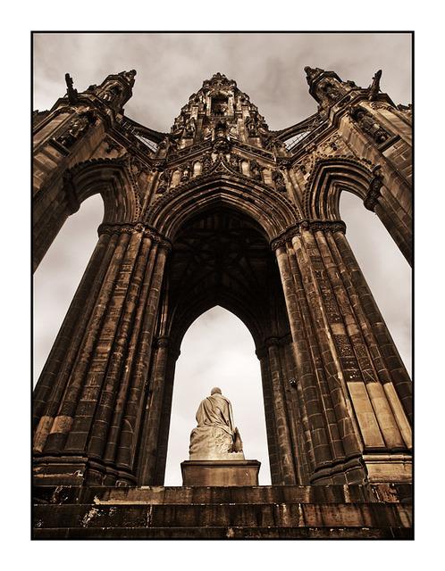 WalterScot Monument 2 Sepia Scotland