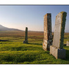 Skye Cemetery Sepia - Scotland