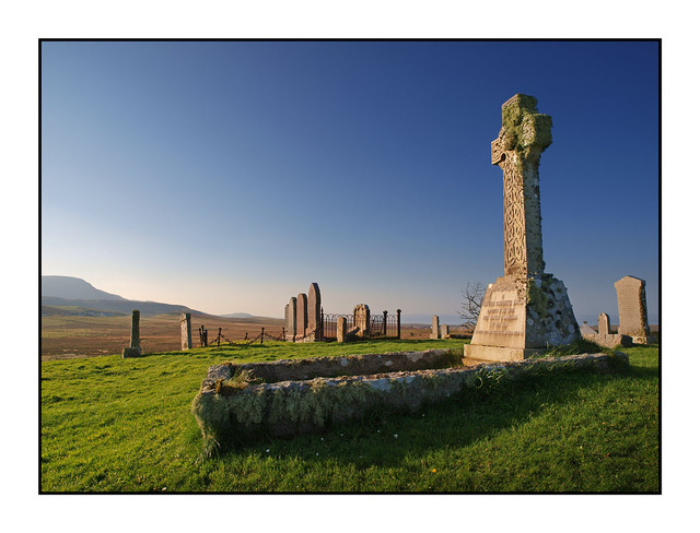 Gertrude Napier Celtic Cross Scotland