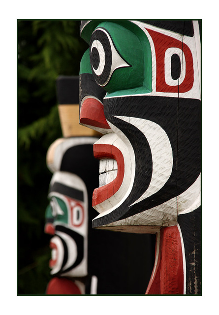 Courtenay Totems Vancouver Island