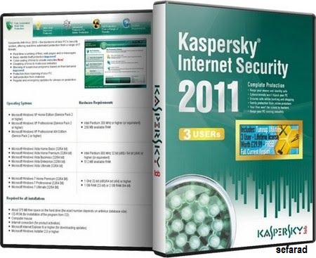 Kaspersky 2011 Internet Security Anti-Virus v11.0.2.55