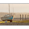 Boat before Sundown - Comox Valley
