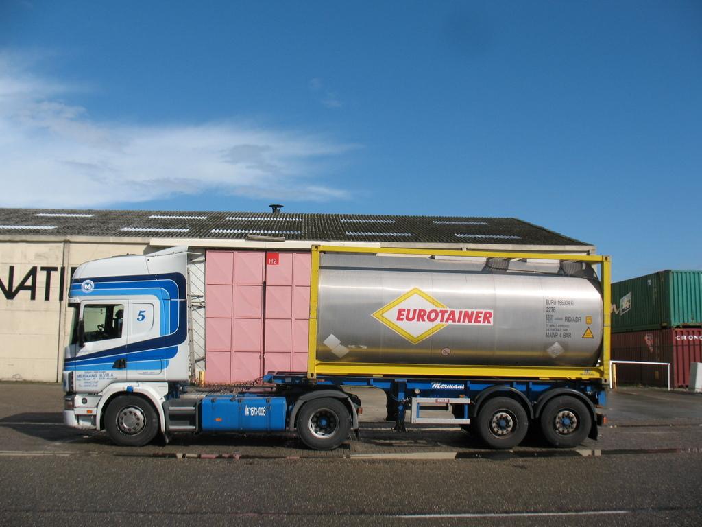 Scania 4serie Mermans -