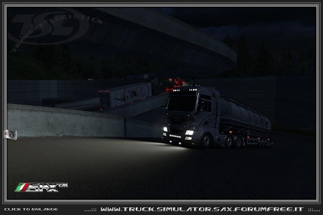 TSL™ MAN TGX + Food Tanker 16 TSL™ MAN TGX + Food Tanker