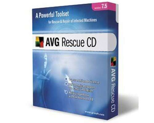 AVG Rescue CD 2011 100.110314 para CD & USB