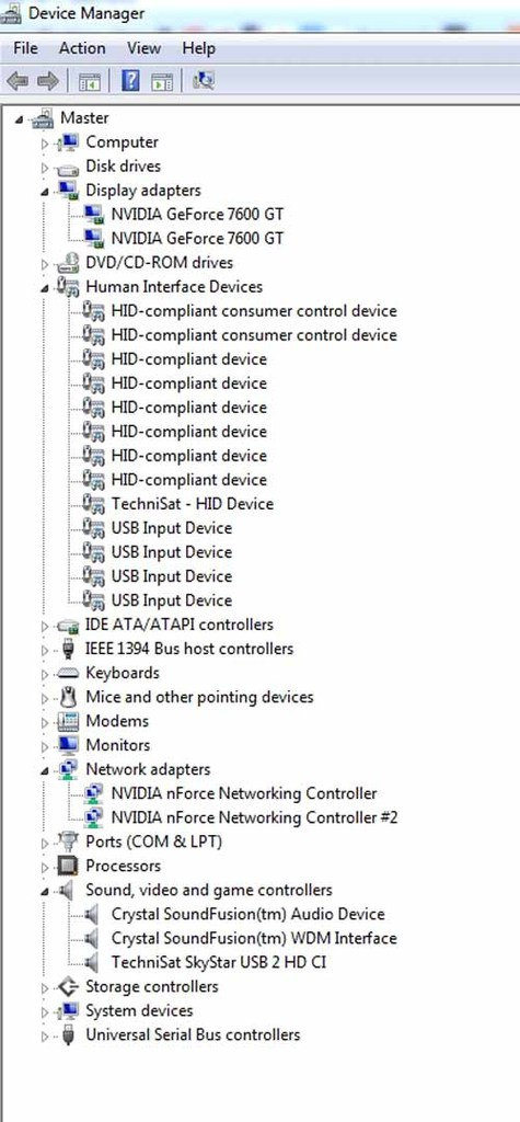 devicemanager -