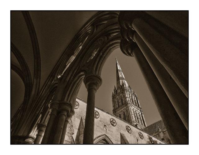 Salisbury Cloister England and Wales