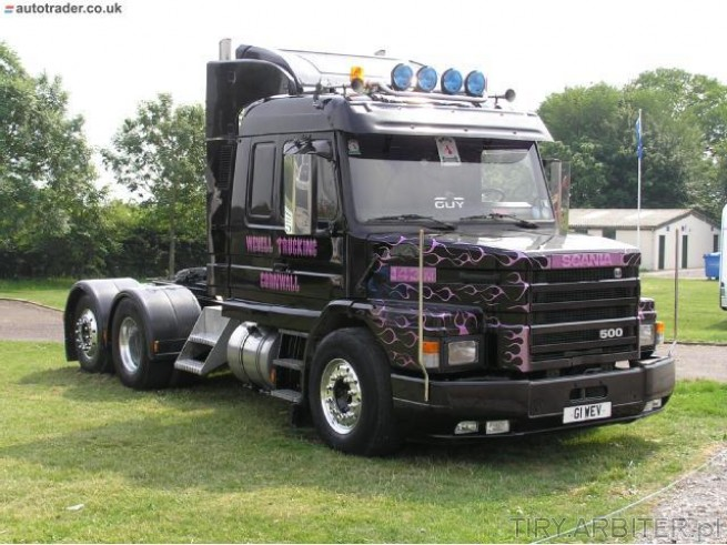 Scania 500 - amerykański Trak z długą kabiną. Picture