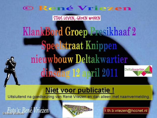 René Vriezen 2011-04-12 #0000-0 KlankBordGroep Presikhaaf2 Speelstraat Knippen Deltakwartier dinsdag 12 april 2011