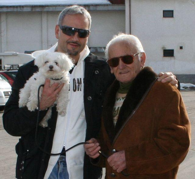 Paolo e papa'  Papa'...