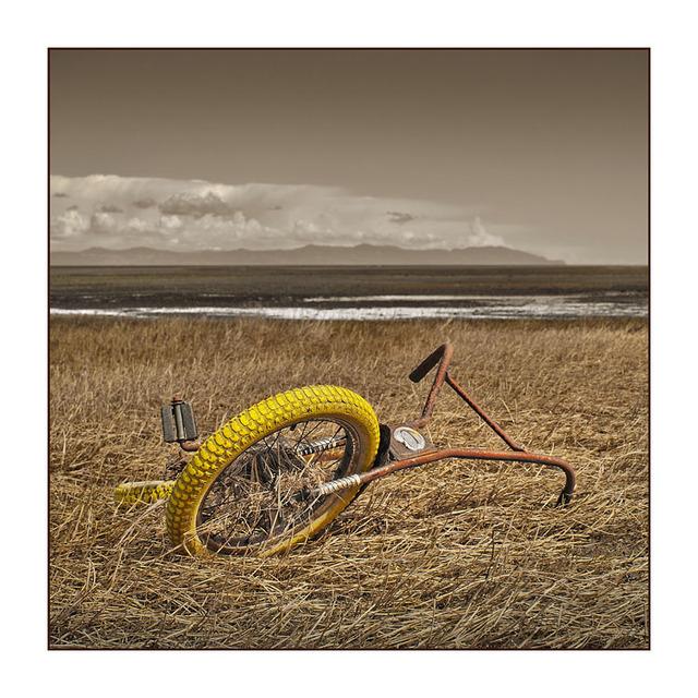 Royston Beach Bike Abandoned