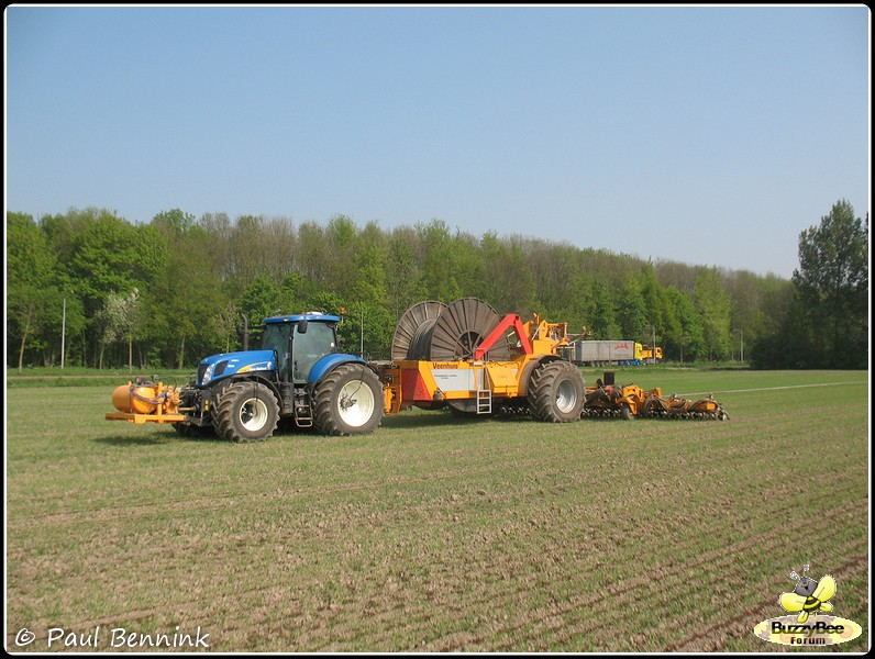 New Holland T7030-BorderMaker -