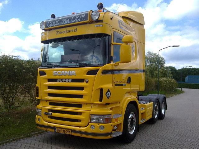 Guus van Oort Foto's van de trucks van TF leden
