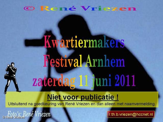 René Vriezen 2011-06-11 #0000 Kwartiermakers Festival Slotfestijn zaterdag 11 juni 2011