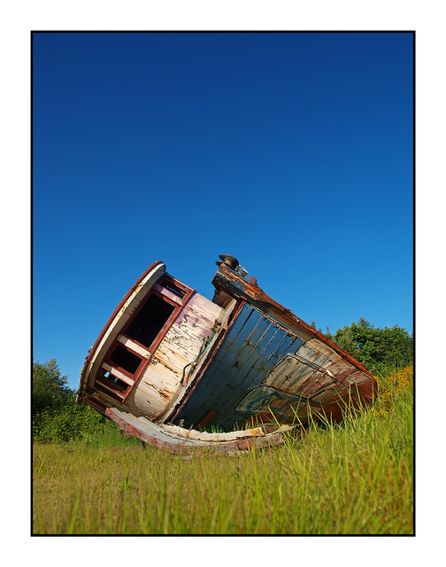 Old Tired Boat 2 Abandoned