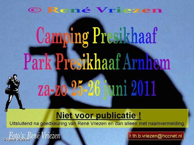 René Vriezen 2011-06-25 #0000-1 Camping Presikhaaf Park Presikhaaf Arnhem 25-26 juni 2011