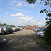 parkeren sportvelden Linschoten op zaterdag 12 mei