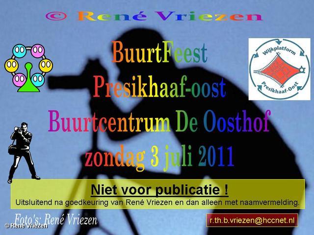 René Vriezen 2011-07-07 #0000-1 BuurtFeest Presikhaaf-oost Buurtcentrum De Oosthof zondag 3 juli 2011