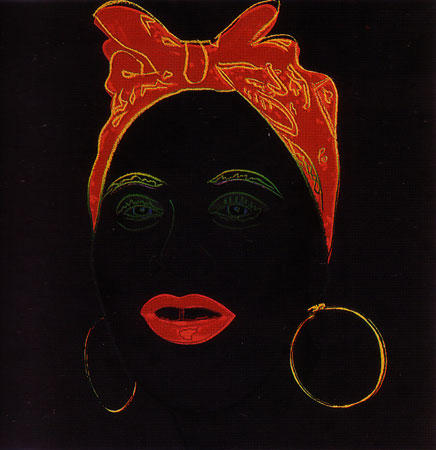 Andy Warhol Mammy with Diamond Dust II262 From the -