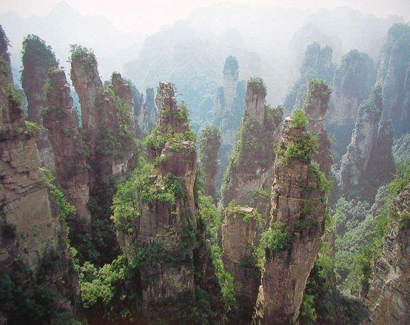 Parco-Nazionale-presso-la-città-di-Jiang-Jia-Jie- -