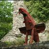 Ruine Grimburg 3 - Vakantie Hermeskeil duitsland