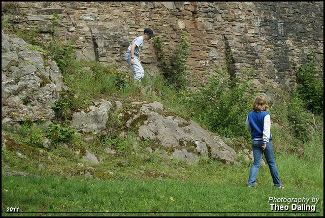 Ruine Grimburg 4 Vakantie Hermeskeil duitsland
