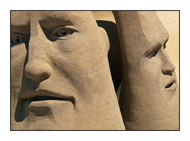 Sand Faces Vancouver Island