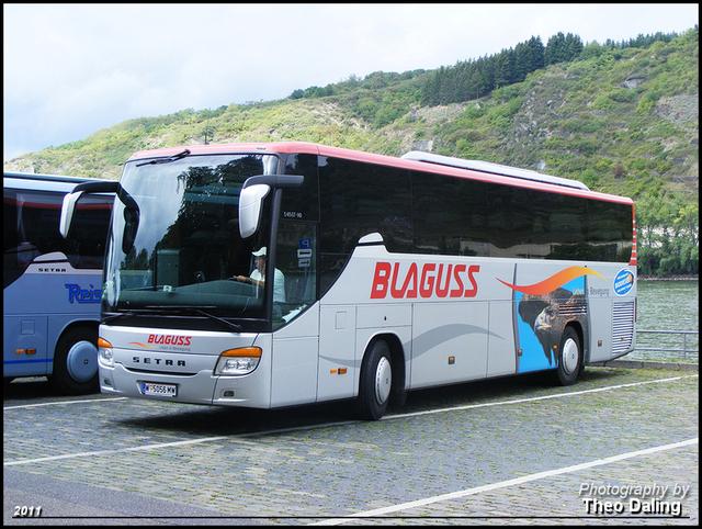 Blaguss - Wien (A) W  5056MW Touringcar's Buitenland 2011