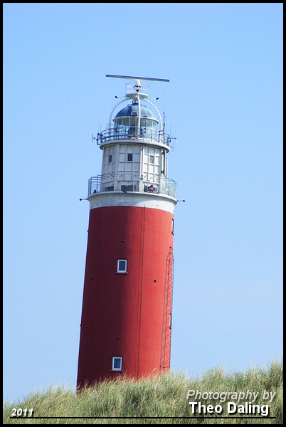Vuurtoren de Cocksdorp  Texel   02 Dagje Texel 21-8-2011