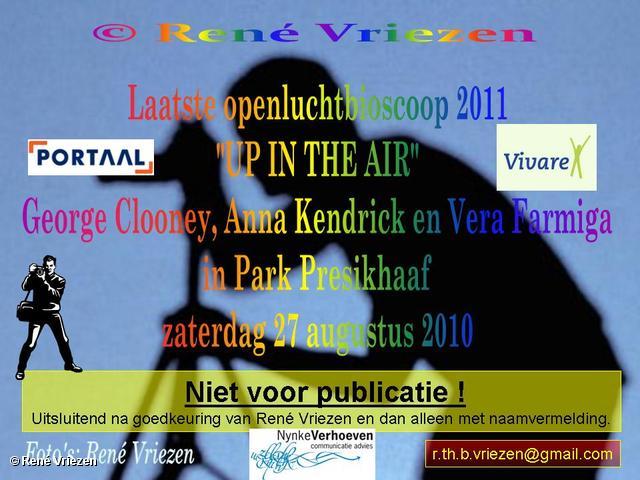 René Vriezen 2011-08-27 #0000-1 Laatste OpenluchtBioscoop in Park Presikhaaf 2011 zaterdag 27 augustus 2011