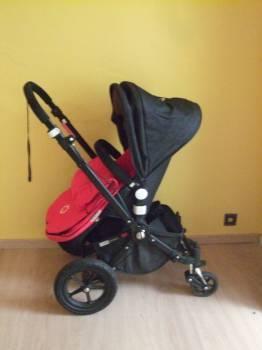 Spiksplinternieuw Bugaboo Cameleon red denim 2010 limited edition - Onderwerp OW-93
