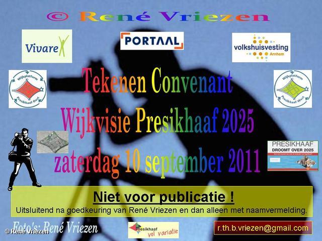 René Vriezen 2011-09-10#0000-1 Tekenen Convenant Wijkvisie Presikhaaf 2025 zaterdag 10 september 2011