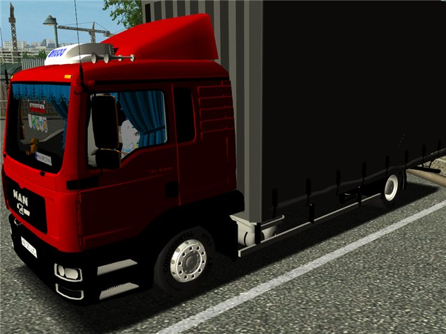 ets MAN TGL + Interior TGL     ETS TRUCK'S Photo album by Snorre