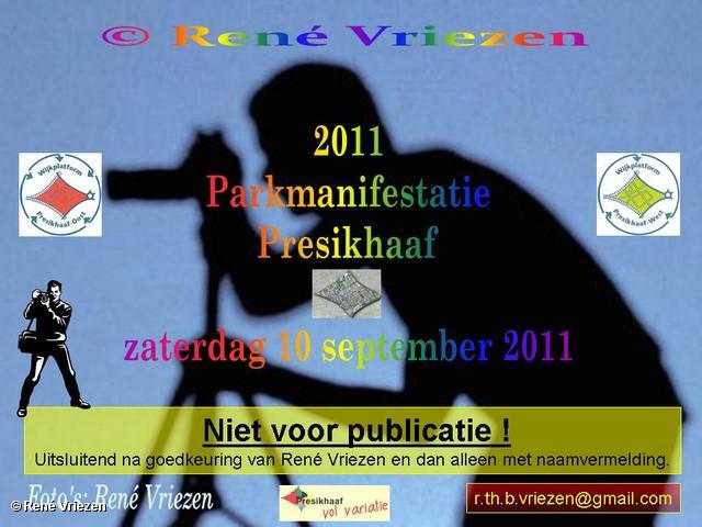 René Vriezen 2011-09-10#0000-2 Parkmanifestatie Presikhaaf 2011 zaterdag 10 september 2011