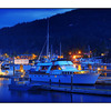 SaltSpring Ganges Night - British Columbia Canada