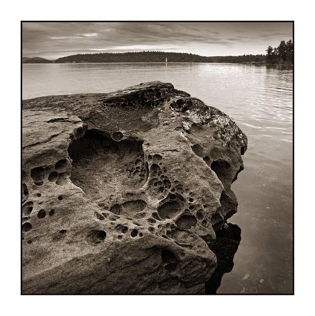 SaltSpring Arbutus Point 3 Black & White and Sepia