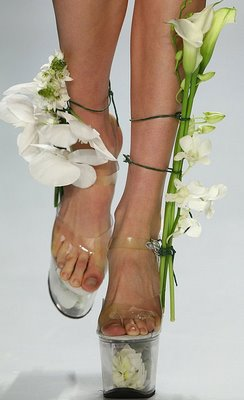 flower shoes -