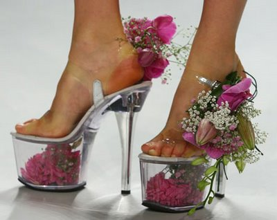flowers abnd shoes -