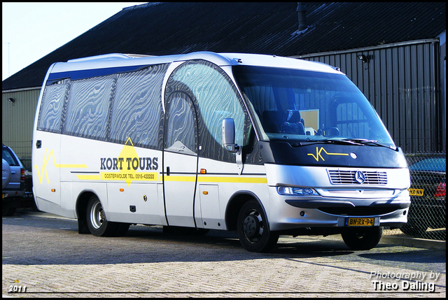 Kort Tours - Oosterwolde (Frl)  BN-RX-94 Touringcars 2011