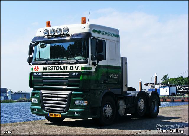Westdijk BV - Alphen a d Rijn  BT-TF-97 02-border Daf 2010 nieuw