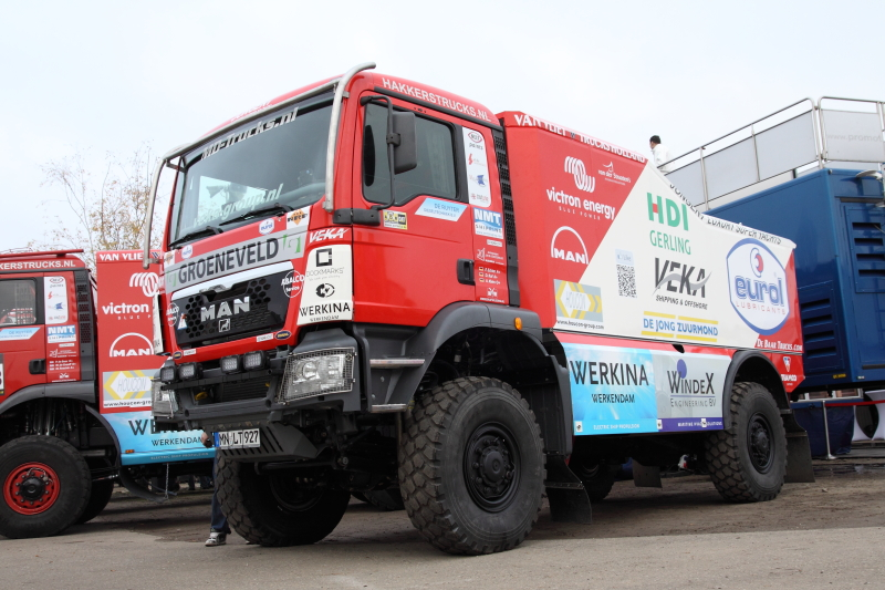SP MAN TGS Veka Dakar 2012 Frans Echter (2011-7) -
